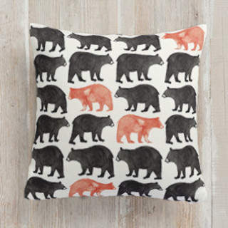 Bold Bears Self-Launch Square Pillows