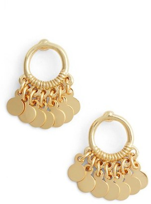 Women's Argento Vivo Vermeil Frontal Drop Earrings $48 thestylecure.com