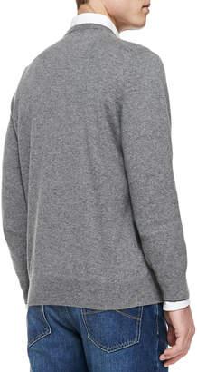 Brunello Cucinelli Cashmere V-Neck Pullover Sweater