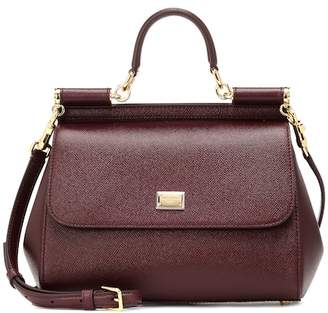 Dolce & Gabbana Miss Sicily leather shoulder bag