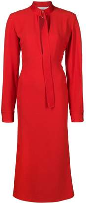 Victoria Beckham Candy slashed dress