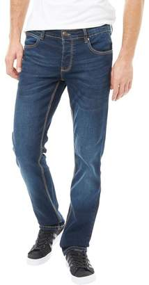 French Connection Mens James Regular Slim Jeans Blue