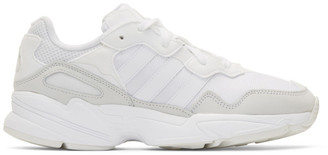 adidas White Yung-96 Sneakers