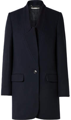 Stella McCartney Bryce Wool Coat - Navy