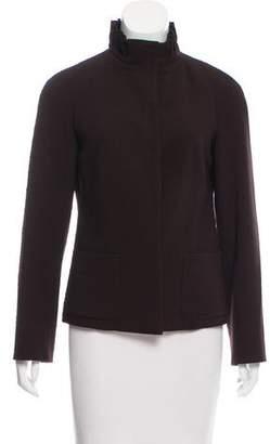 Agnona Long Sleeve Wool Jacket
