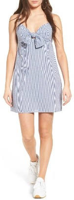 Women's Soprano Tie Front Cami Dress $45 thestylecure.com