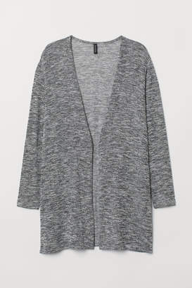 H&M H&M+ Fine-knit Cardigan - Black