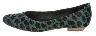 Rachel Comey Ponyhair Round-Toe Flats