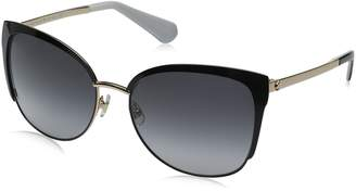 Kate Spade Womens Genice/s Oval Sunglasses