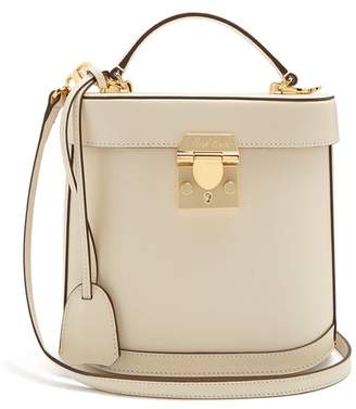 Mark Cross Benchley Saffiano Leather Shoulder Bag - Womens - Ivory