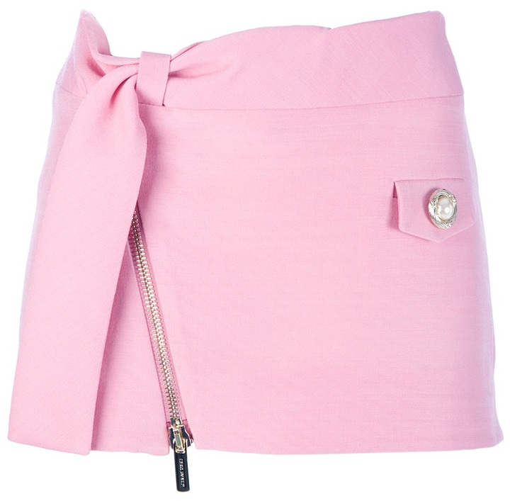 DSquared Dsquared2 zip up mini skirt