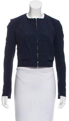 Roland Mouret Embroidered Zip-Up Jacket