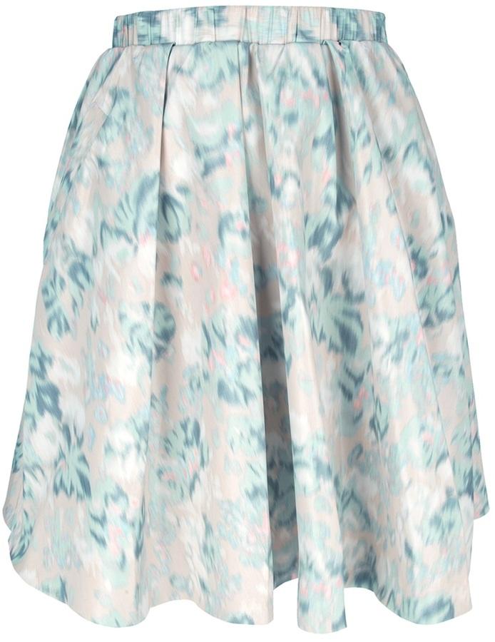 Acne 'Romantic Print' skirt