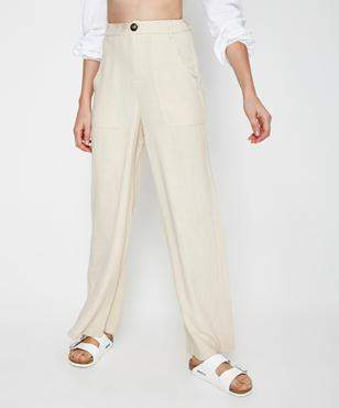 Subtitled Traveller Relaxed Pant Natural