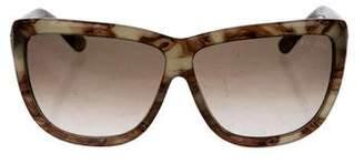 Tom Ford Square Gradient Sunglasses
