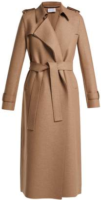 Harris Wharf London Layered wool trench coat