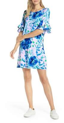 Lilly Pulitzer R) Lula Ruffle Sleeve Shift Dress