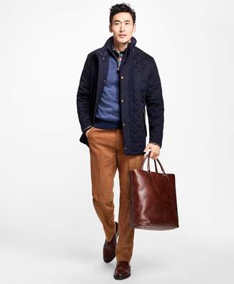 Brooks Brothers BrooksStorm Quilted Walking Coat