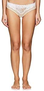 La Perla Women's Desert Rose Bikini Briefs - Off-White