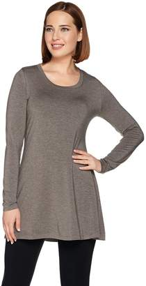 Halston H By H by Essentials Scoopneck Long Sleeve Knit Tunic