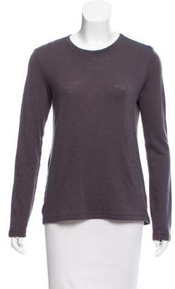 Proenza Schouler Long Sleeve Scoop Neck Top
