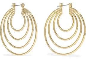 Luv Aj Gold-Tone Hoop Earrings