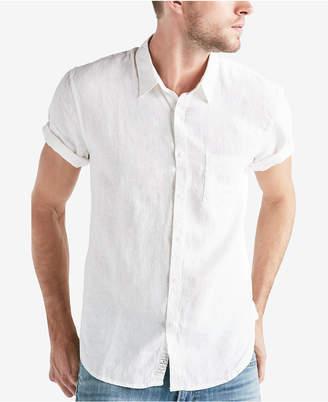 Lucky Brand Men's 1 Pocket Linen Shirt