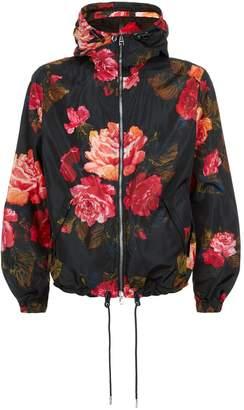 Alexander McQueen Rose Print Jacket
