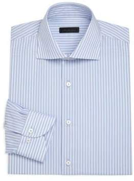 Saks Fifth Avenue COLLECTION Classic Stripe Dress Shirt
