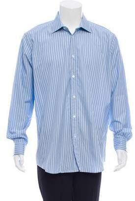 Hermes Pinstripe Dress Shirt