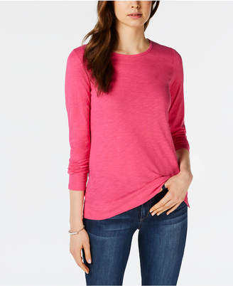 Maison Jules High-Low T-Shirt, Created for Macy's
