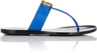 Gucci Women's Marmont Leather Thong Sandals