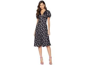 Betsey Johnson Bow Print Maxi Dress Women's Dress