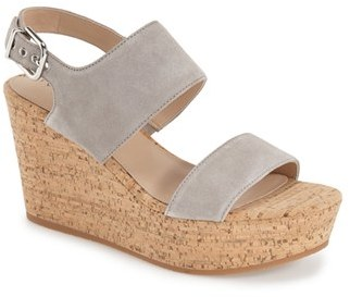 Via Spiga 'Kezia' Wedge Sandal $195 thestylecure.com