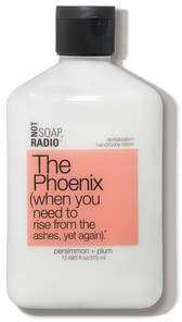 Not Soap Radio The Phoenix revitalization hand and body lotion