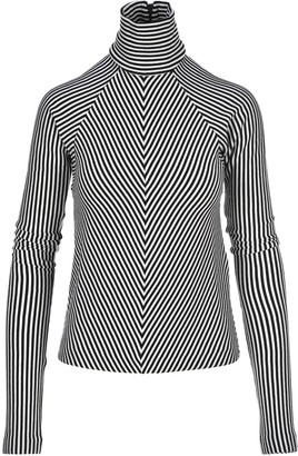 Haider Ackermann Striped Turtleneck Sweater
