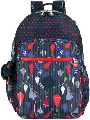 Kipling Disney's Mary Poppins Seoul Go Printed Laptop Backpack