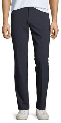 Theory Men's Mayer Function Seersucker Straight-Leg Pants