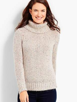 Talbots Tweed Turtleneck