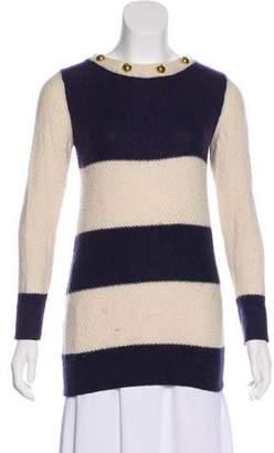 Ralph Lauren Moffat Striped Wool-Blend Sweater