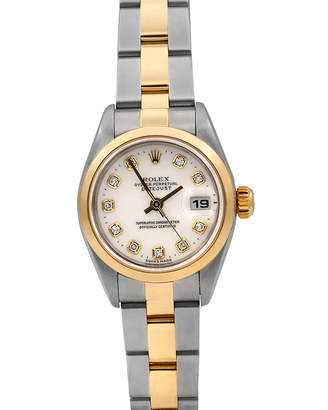 Rolex Pre-Owned 26mm Datejust Automatic Diamond Watch, Two-Tone