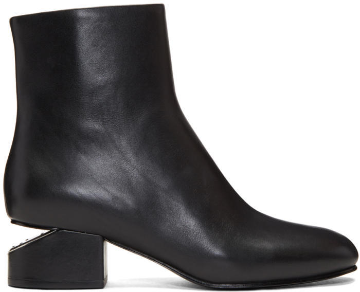 Alexander Wang Black Kelly Boots