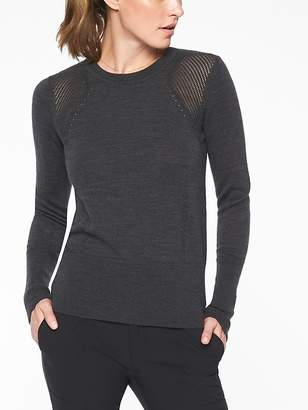 Athleta Cardinal Sweater