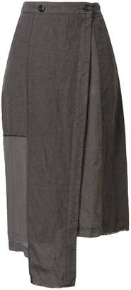 Lost & Found Rooms uneven length skirt