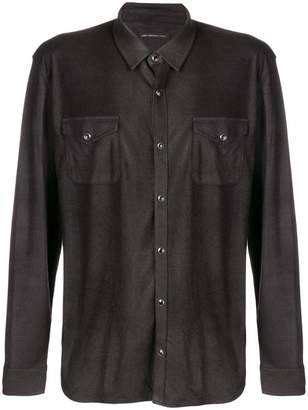 John Varvatos chest pocket shirt