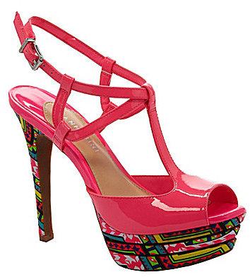 Gianni Bini Sharla T-Strap Sandals