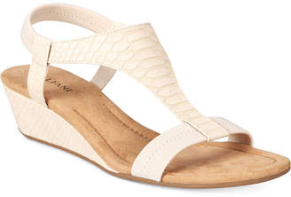 Alfani Vacanzaa Wedge Sandals, Only at Macy's $39.98 thestylecure.com