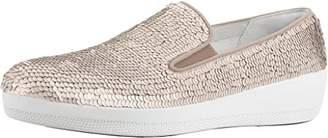 FitFlop Womens Superskate Sequins Slip-On Loafer