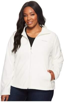 Columbia Plus Size Fast Trektm II Full Zip Fleece Jacket Women's Coat