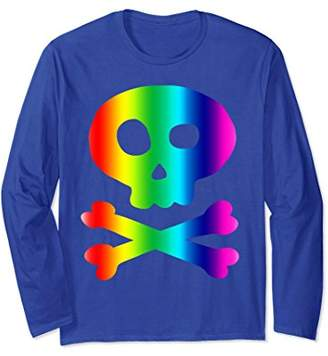 Jolly Roger Pirate Long Sleeve Tee